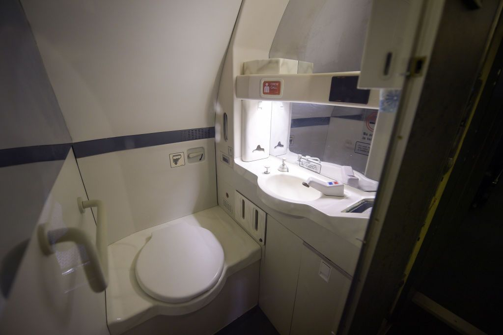 Using Physics To Build a Quieter Airplane Toilet