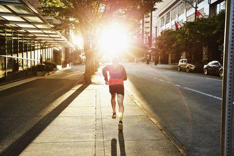 Light, Lane, Sunlight, Morning, Snapshot, Sky, Urban area, Road, Pedestrian, Asphalt,