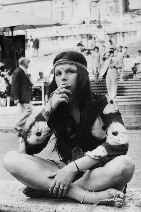 Hippy tie dye