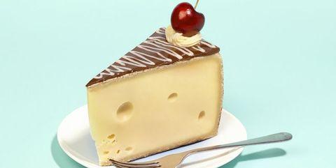Food, Frozen dessert, Dessert, Semifreddo, Cake, Dish, Cuisine, Chiboust cream, Ingredient, Cheesecake,