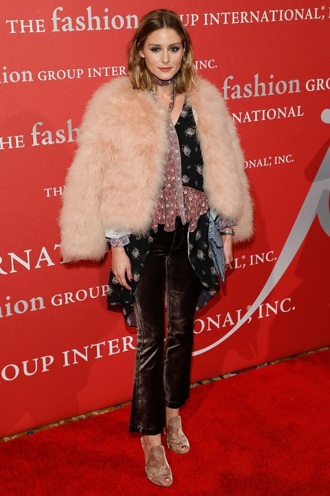 Fur, Clothing, Fur clothing, Premiere, Carpet, Fashion, Red carpet, Flooring, Outerwear, Event,