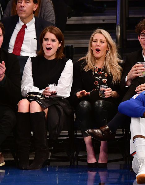 Princess Eugenie hung out with singer Ellie Goulding in NYC this week