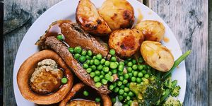 This student is writing her dissertation on her love of roast dinners