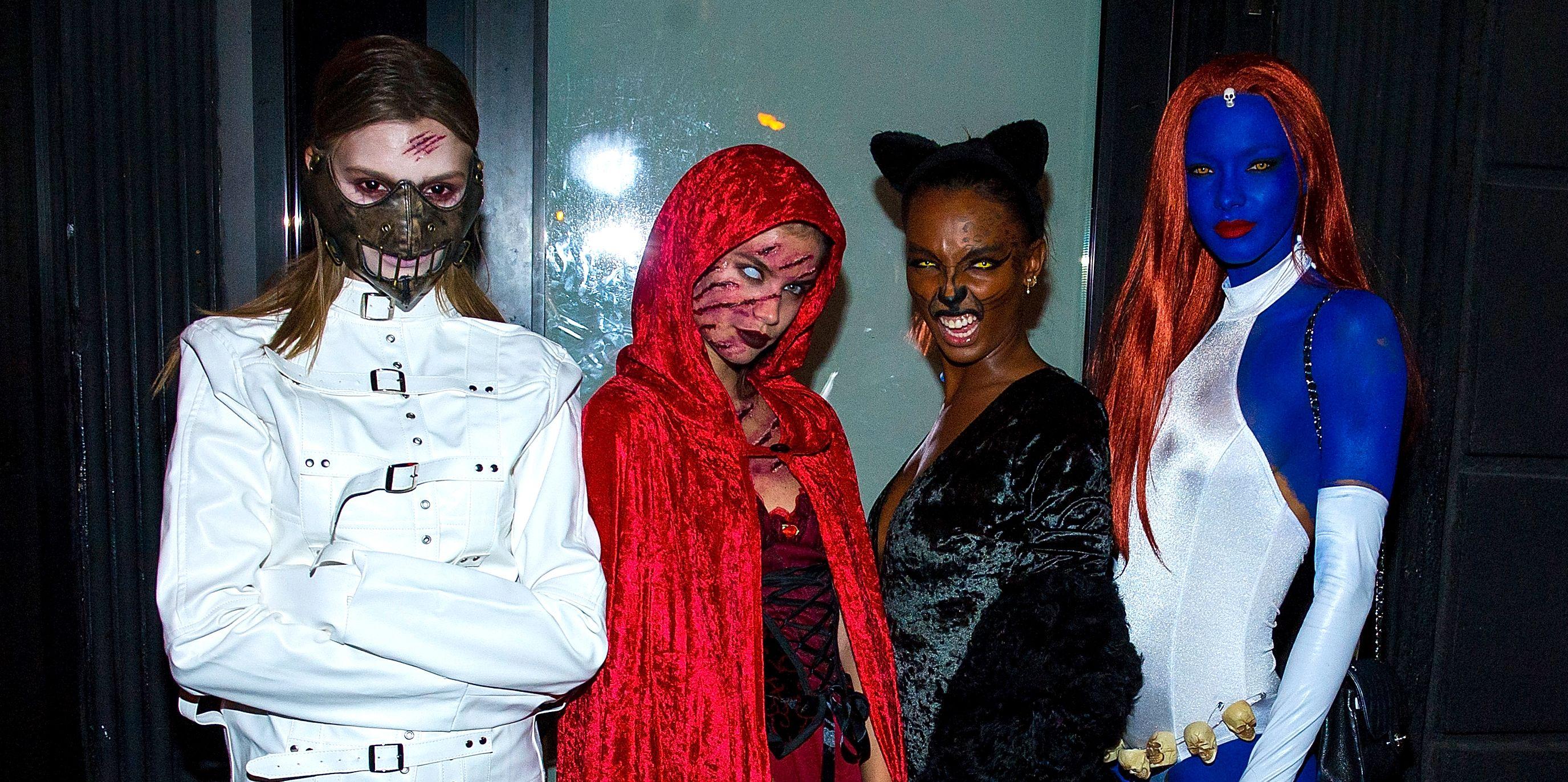 These Victoria's Secret Models Just Won Halloween