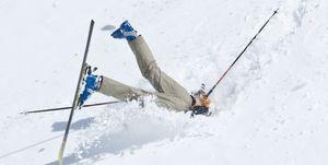 chico ski nieve, chico estrellado nieve