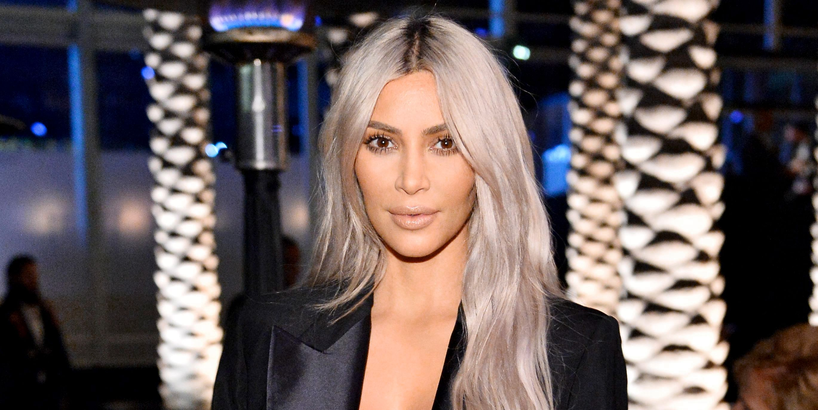 pictures This 10 Serum Is the Reason Kim Kardashian Doesnt Have a Single Wrinkle