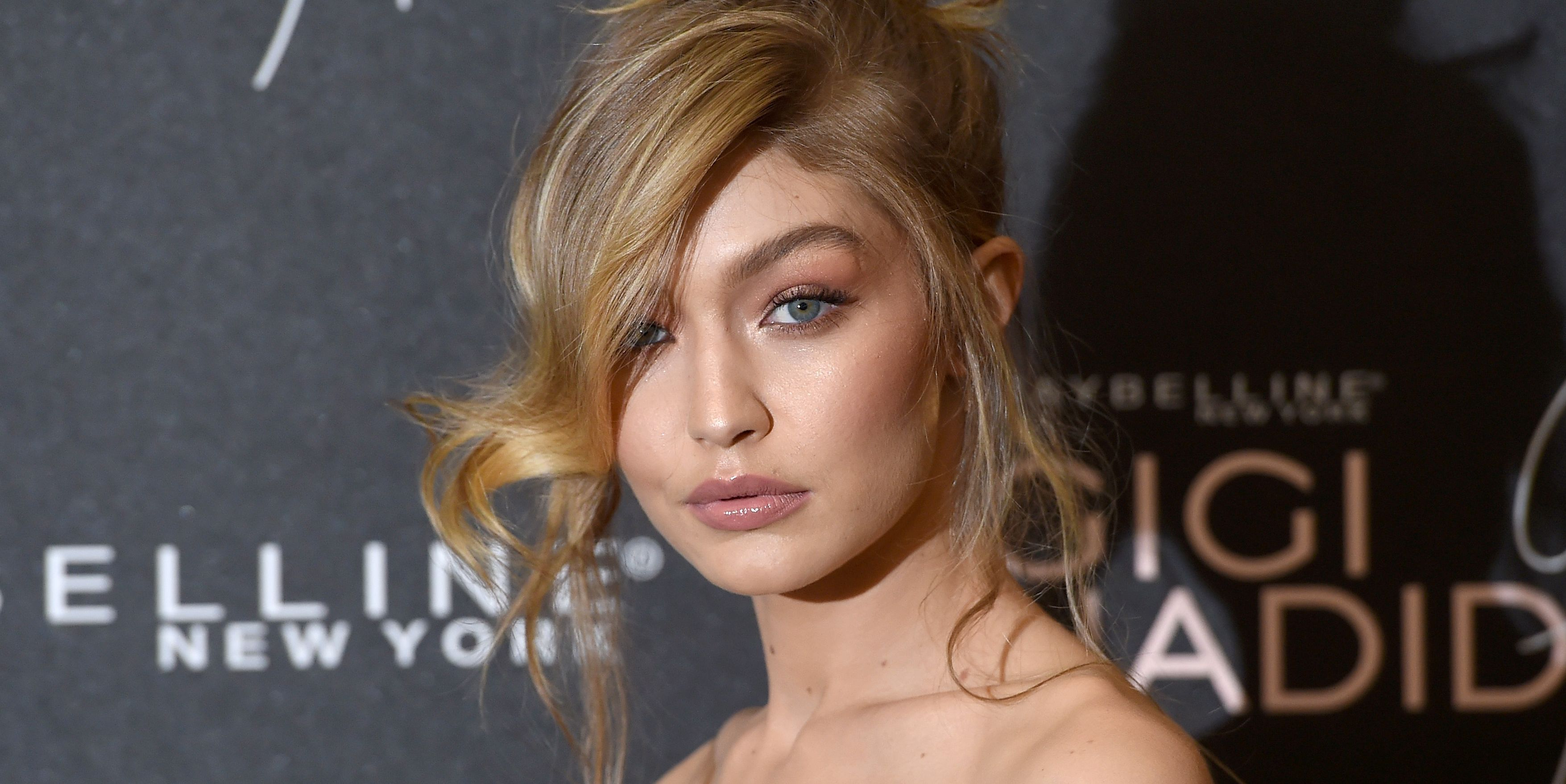 gigi hadid maybelline launch