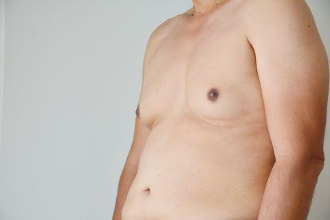 Abdomen, Barechested, Skin, Chest, Stomach, Trunk, Navel, Shoulder, Arm, Flesh,