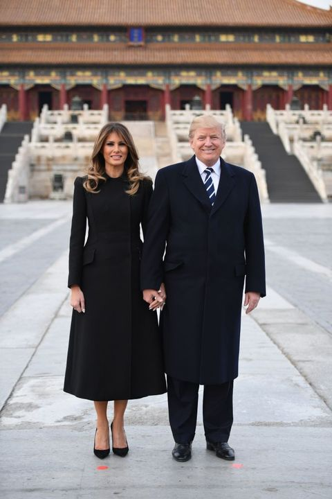 aa71ce420ca3 Melania Trump Style as First Lady - Photos of Melania Trump Fashion