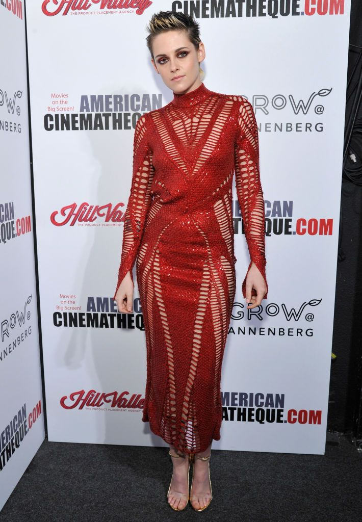 Kristen Stewart attends the 31st American Cinematheque Award Presentation Honoring Amy Adams Presented by GRoW @ Annenberg. Presentation of The 3rd Annual Sid Grauman Award Sponsored by Hill Valley, presented to Richard Gelfond and Greg Foster on behalf of IMAX at The Beverly Hilton Hotel on November 10, 2017 in Beverly Hills, California. (Photo by John Sciulli/Getty Images for American Cinematheque)