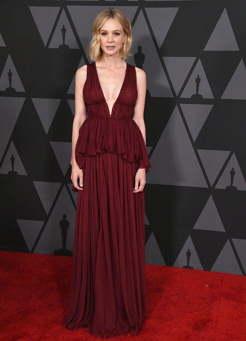 3926596bda Celebrities' Best Plunging Necklines From 2017 Red Carpets - Best ...