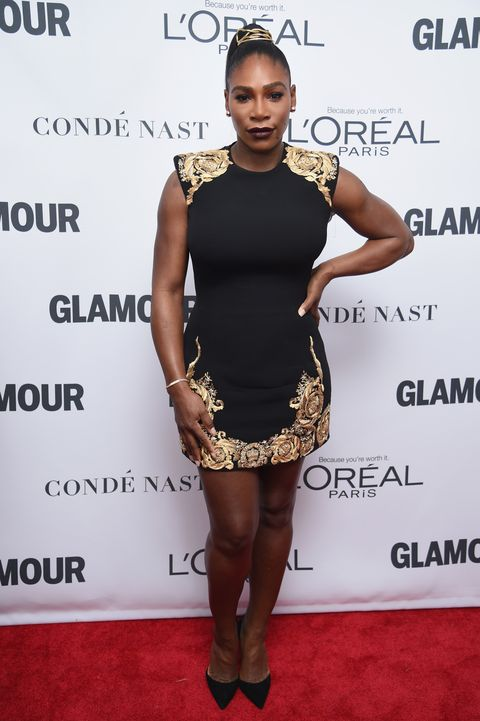 Serena Williams Makes First Red Carpet Appearance Since
