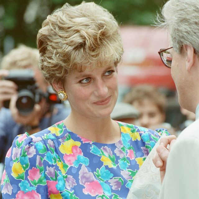 princess diana, princess of wales, visits the lighthouse project for aids victims west london picture taken 20th july 1992 photo by kent gavinmirrorpixgetty images