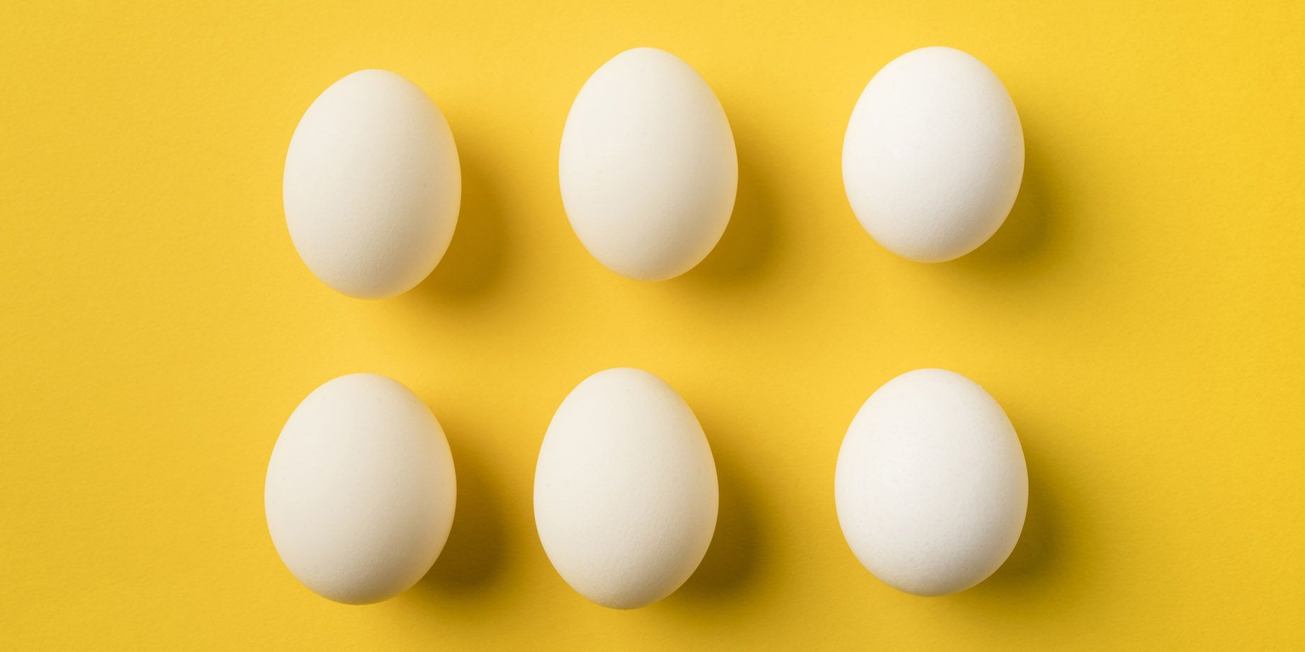 six Chicken eggs