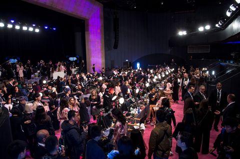 Backstage at the 2017 Victoria's Secret Fashion Show