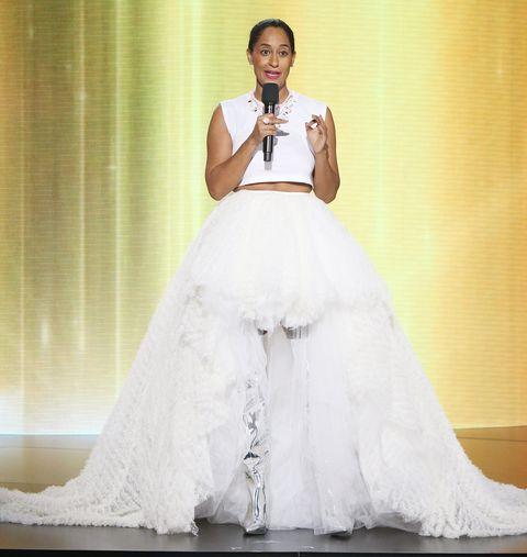 Wedding dress, Gown, Dress, Clothing, Bride, Bridal clothing, Bridal party dress, Shoulder, Fashion, Fashion model,