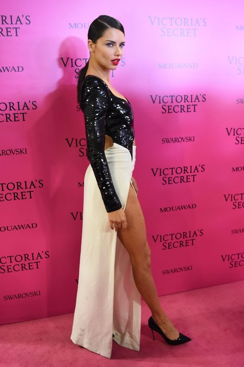 Clothing, Dress, Pink, Shoulder, Beauty, Fashion, Hairstyle, Flooring, Fashion model, Red carpet,