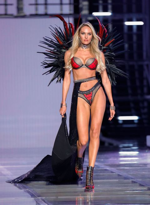 6efe3bbe5d7 Inside Candice Swanepoel s Victoria s Secret Fashion Show Fitting