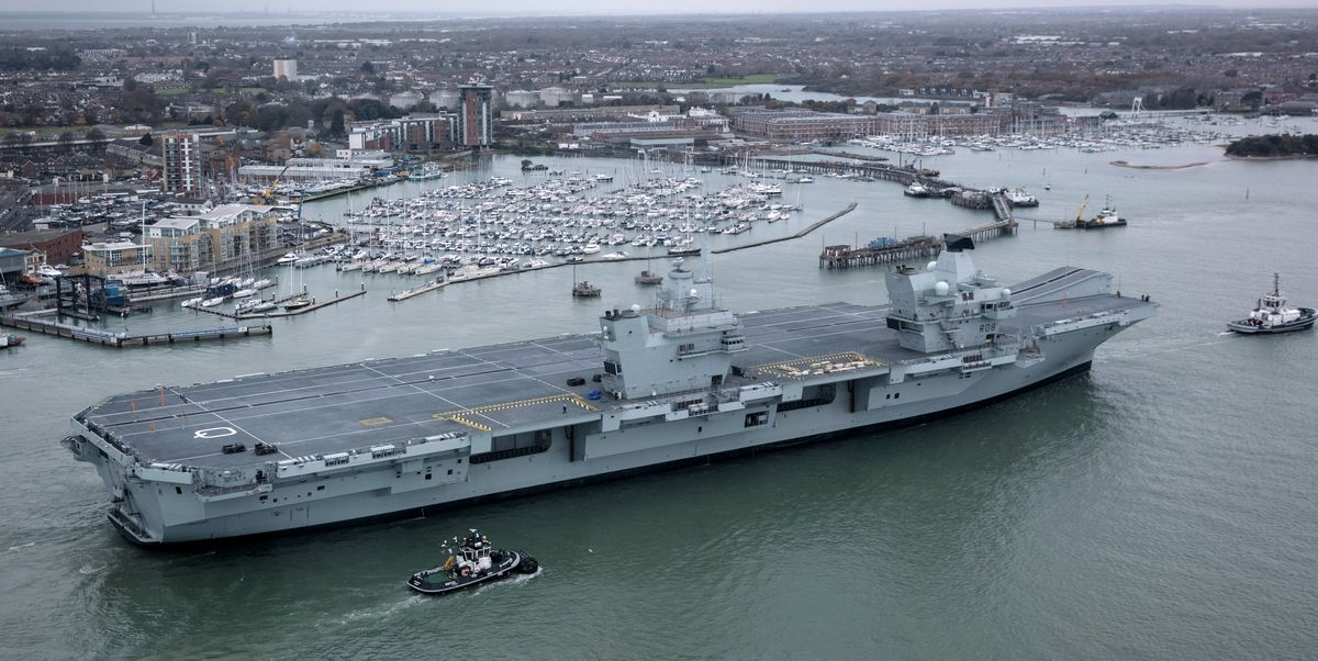 All the New Aircraft Carriers That Are Under Construction