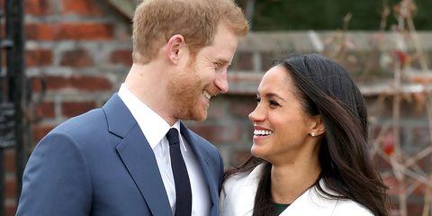 markle prince harry engagement