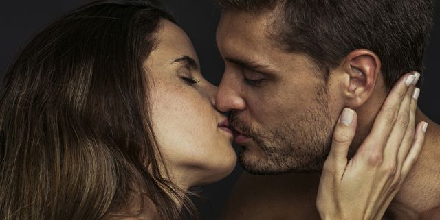 How to kiss romantically