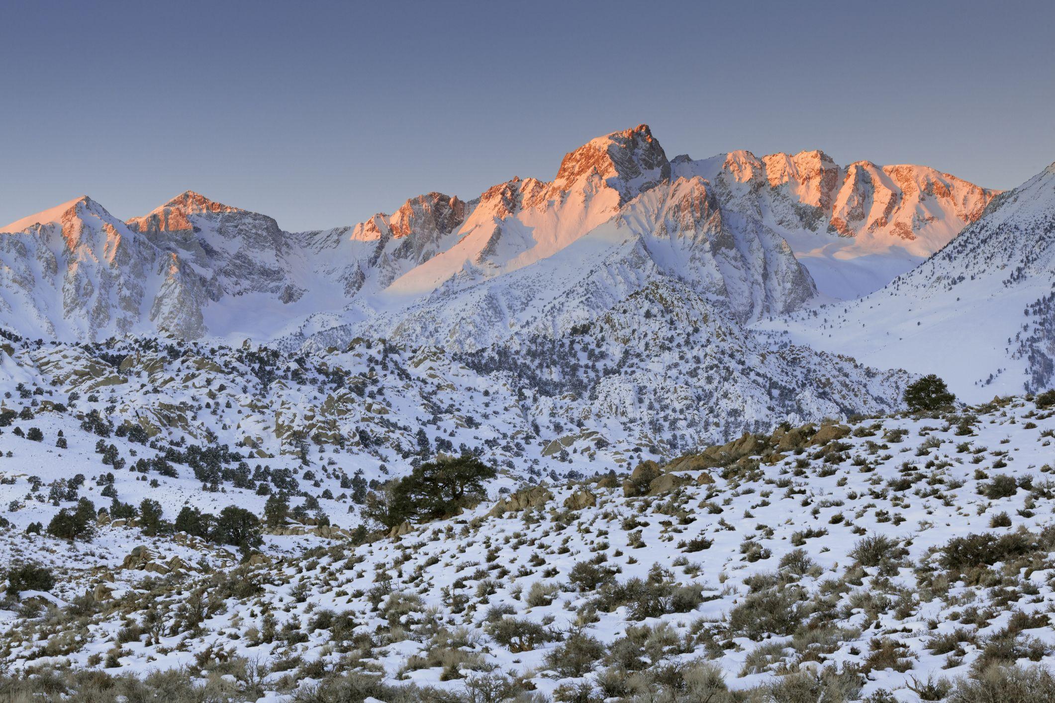California Drought Made The Sierra Nevada Mountains Rise An Inch