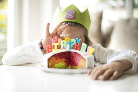 Child, Toddler, Baby, Sweetness, Food, Play, Eating, Crown, Sitting, Party hat,