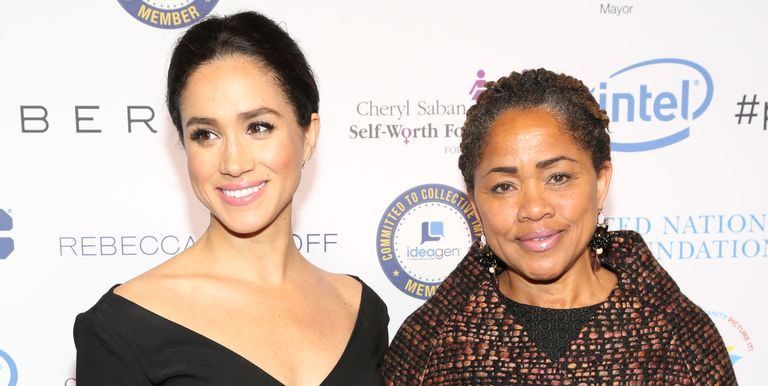 Good Morning Zaddy : Meghan markle s mom doria ragland arrived in london for