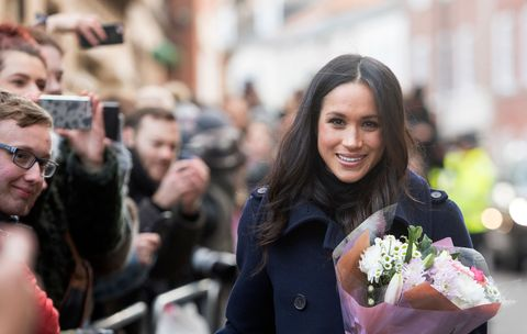 0f4274b7b8404 Here's Your First Look at Prince Harry and Meghan Markle's Wedding Flowers