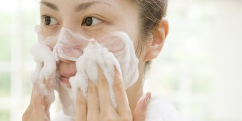 Face, Skin, Nose, Head, Beauty, Cheek, Hand, Close-up, Eye, Lip,