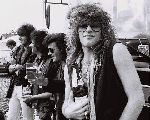hair metal, backstage