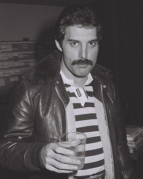freddie mercury moustache style