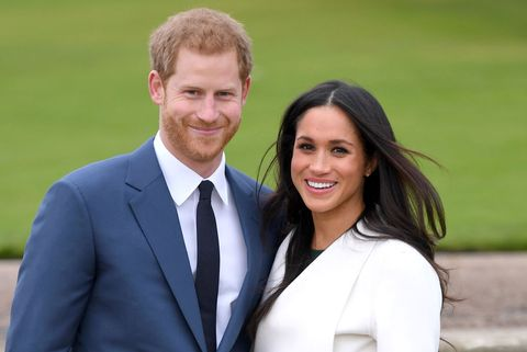 london, england   november 27  prince harry and meghan markle attend an official photocall to announce their engagement at the sunken gardens at kensington palace on november 27, 2017 in london, england  prince harry and meghan markle have been a couple officially since november 2016 and are due to marry in spring 2018  photo by karwai tangwireimage
