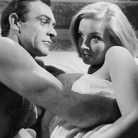 Sean Connery And Daniela Bianchi