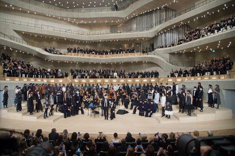 Chanel - Collection Metiers d'Art Paris Hamburg 2017/18 At The Elbphilharmonie