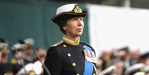 The Queen And The Princess Royal Visit HM Naval Base In Portsmouth