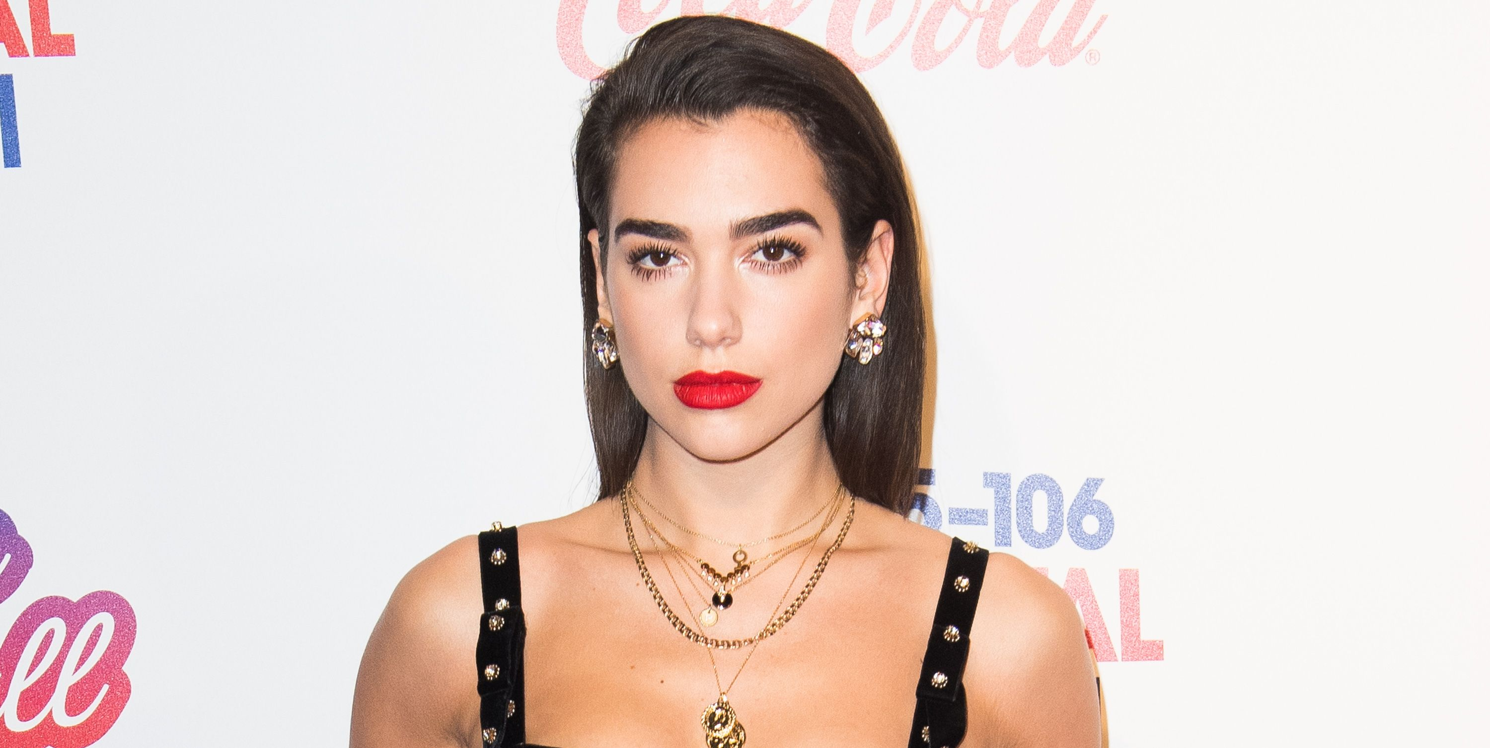 Dua Lipa attends the Capital FM Jingle Bell Ball with Coca-Cola at The O2 Arena on December 9, 2017 in London
