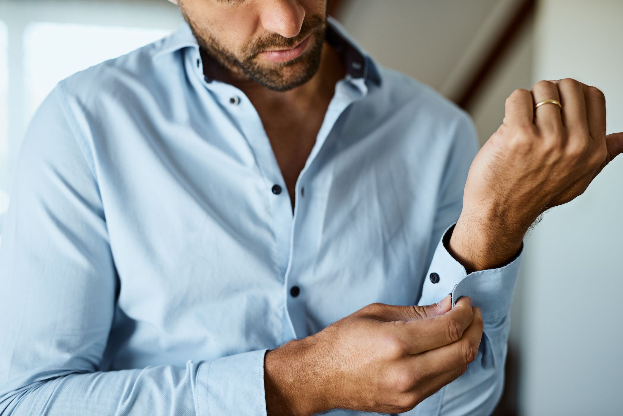 Black Silk Shirt Custom made to measure hand tailored bespoke dress shirts