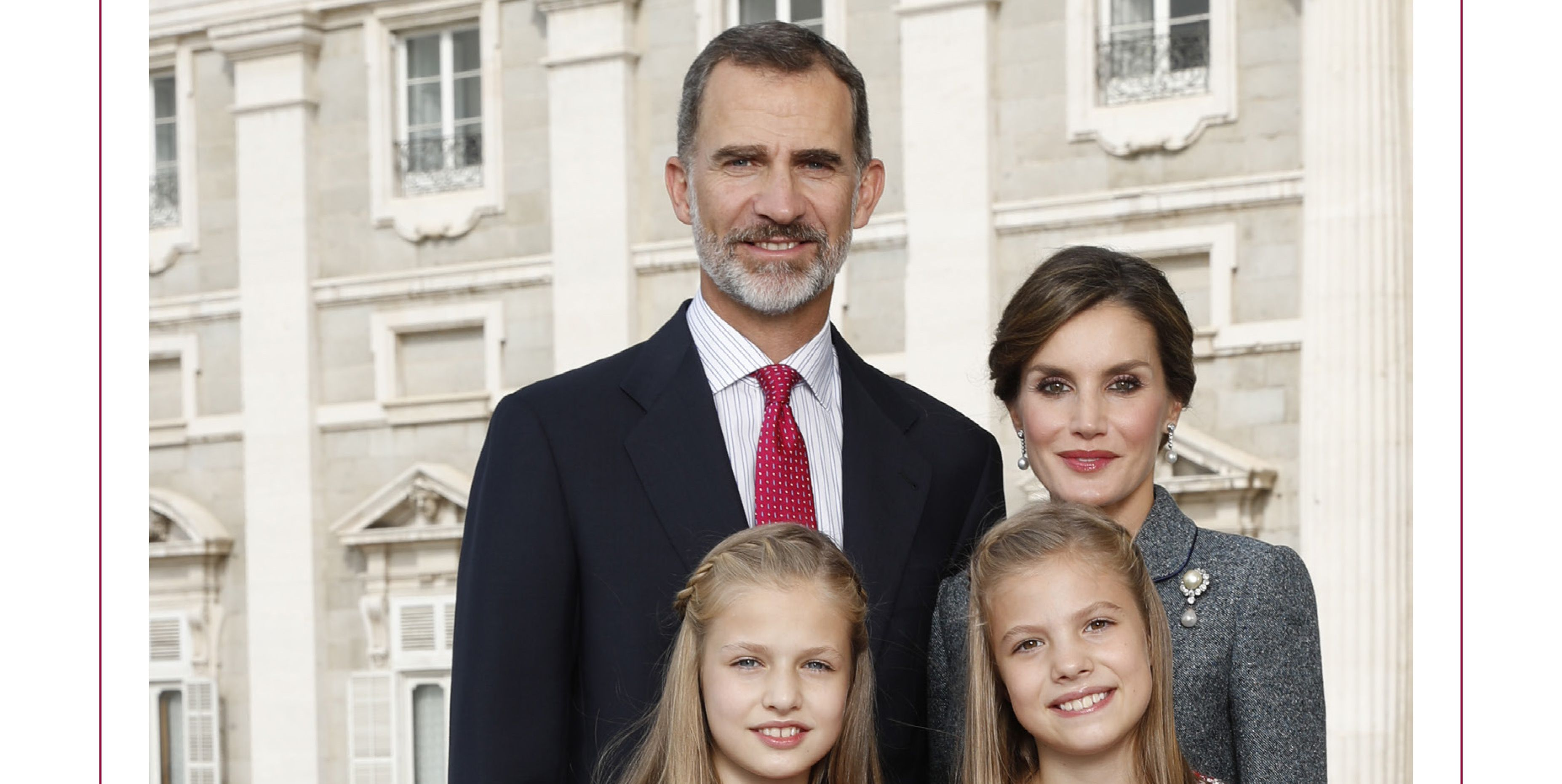 spanish royals christmas card
