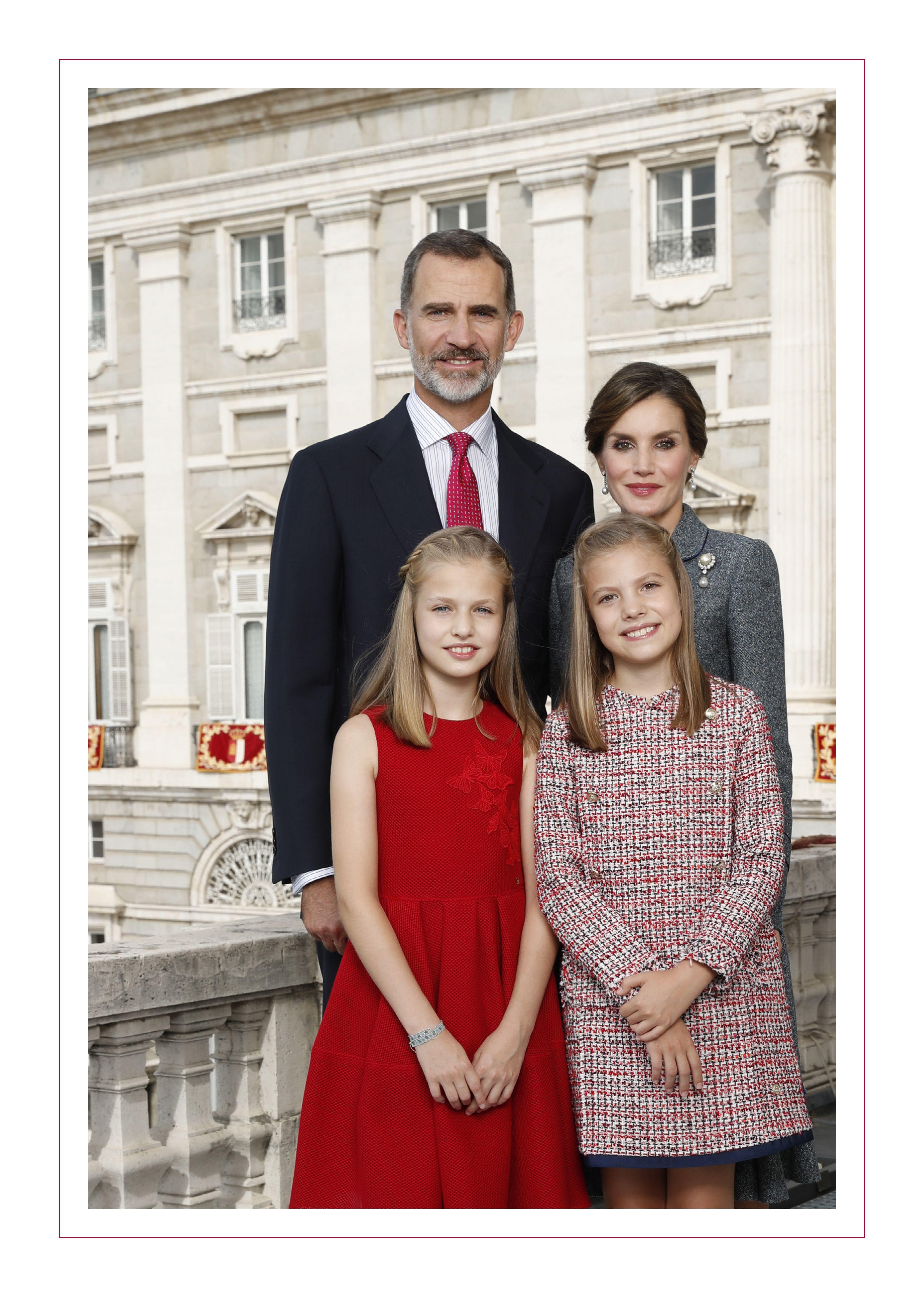 spanish royals christmas card
