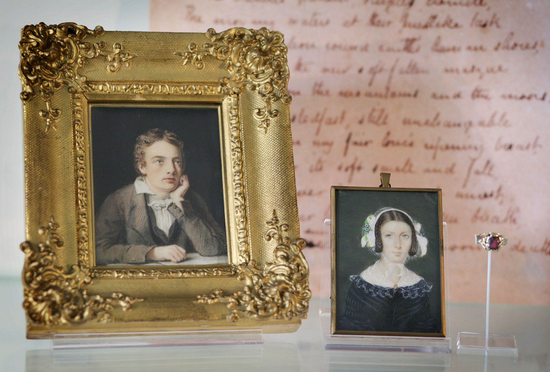 John Keats and Fanny Brawne