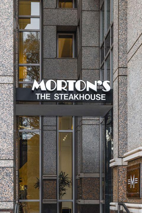 Restaurants Open on Christmas Day Morton's Steakhouse