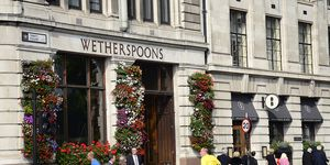 Wetherspoons are offering an all-inclusive wedding reception package