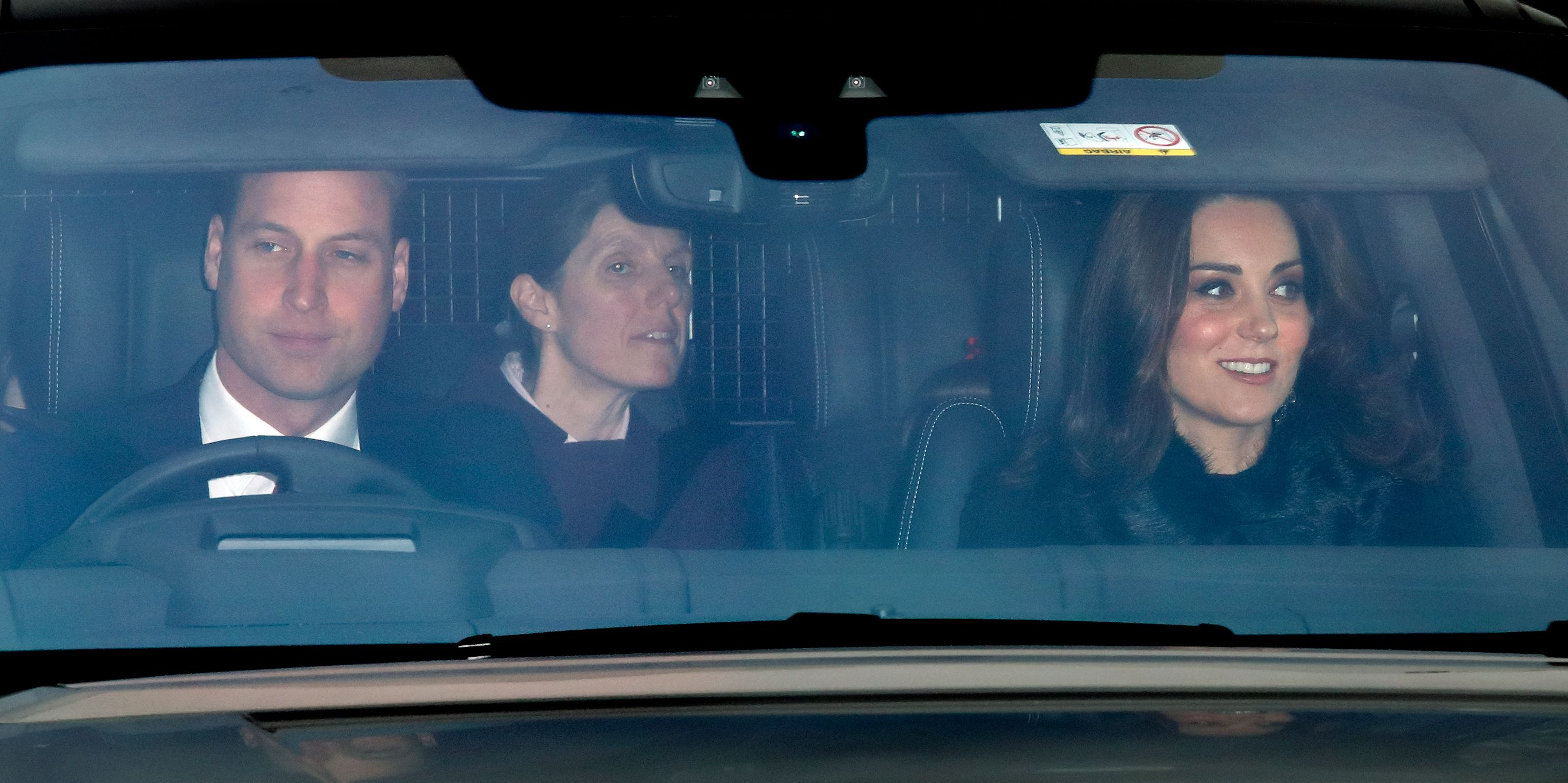 Regular Person Kate Middleton Spotted Driving Herself to Buckingham Palace