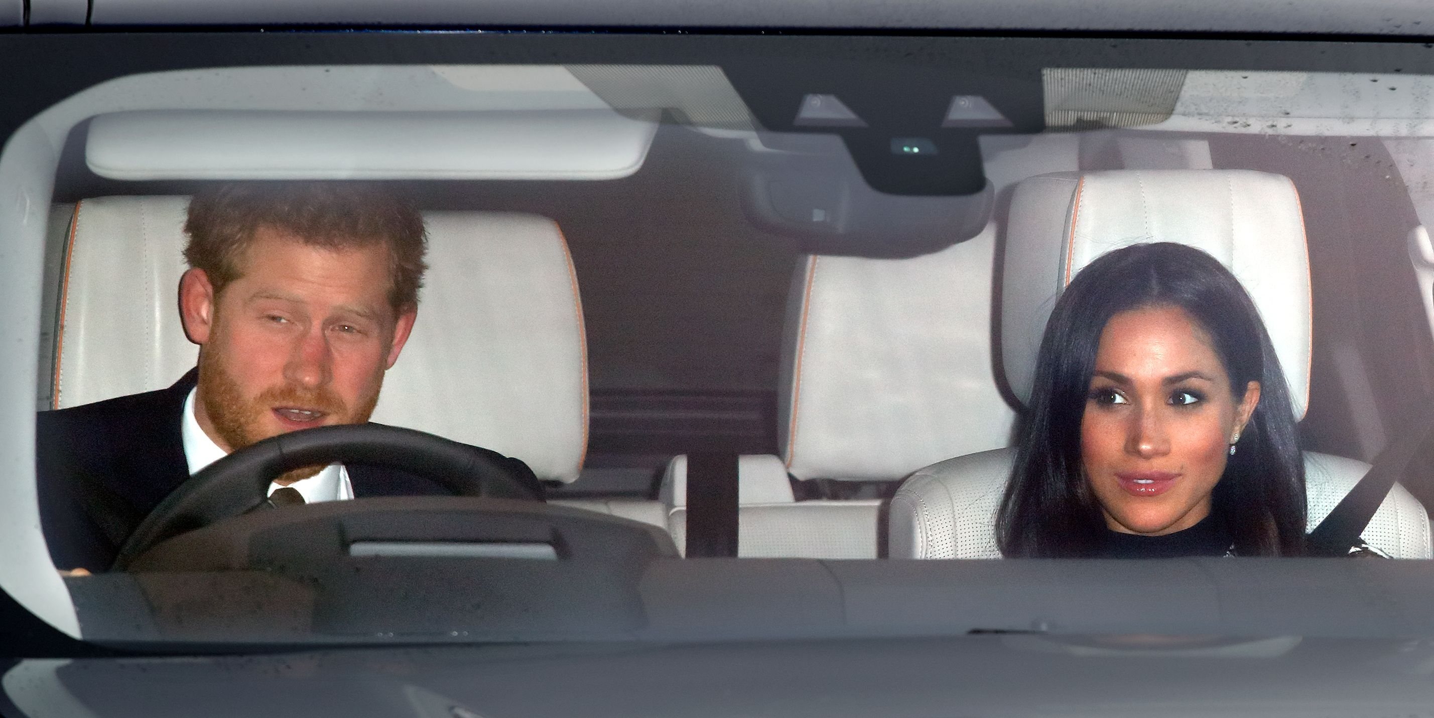 Meghan Markle and Prince Harry Spotted Leaving Windsor After Their Royal Wedding