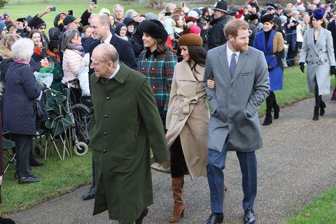 Meghan Markle Christmas.Meghan Markle And Prince Harry Attend Church On Christmas