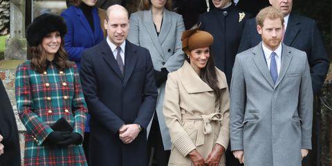 Meghan Markle joins royal family for Christmas Day
