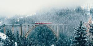 Train journey Switzerland