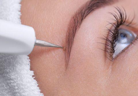 Eyebrow, Eyelash, Face, Skin, Eye, Beauty, Nose, Organ, Close-up, Cheek,