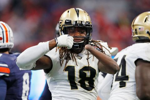 One-Handed Linebacker Shaquem Griffin Turns Heads at NFL Combine